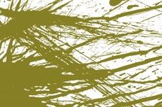 Green Grunge Paint Vector
