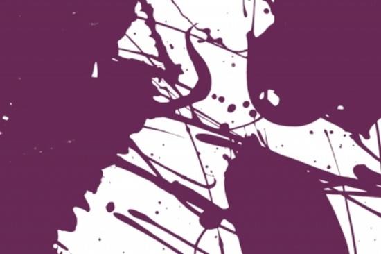 Free Purple Vector Splashy