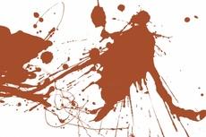 Browny Vector Ink Splashes
