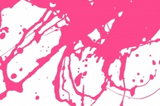 Pink Ink Free Vector Splash