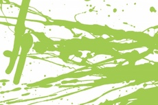 Light Green Free Vector Splash