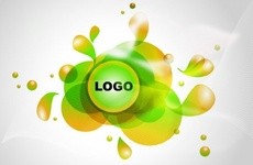 Logotype Blobs Spot Vector Design