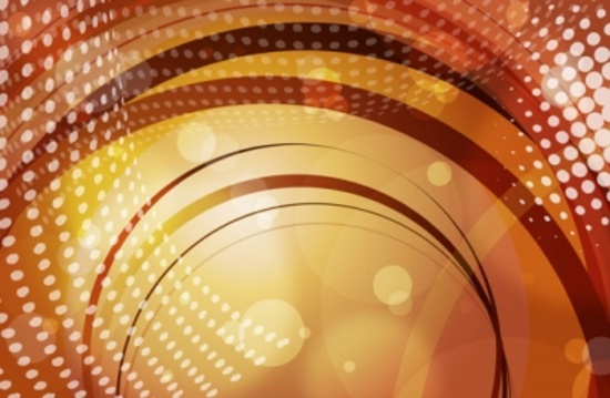 Cool Abstract Orange Background