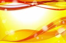 Orange Abstract Vector Background