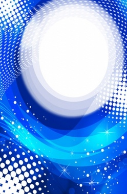 Abstract Blue Free Vector Background
