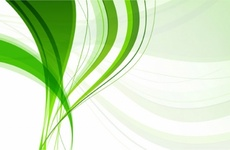 Simple Green Abstract Background
