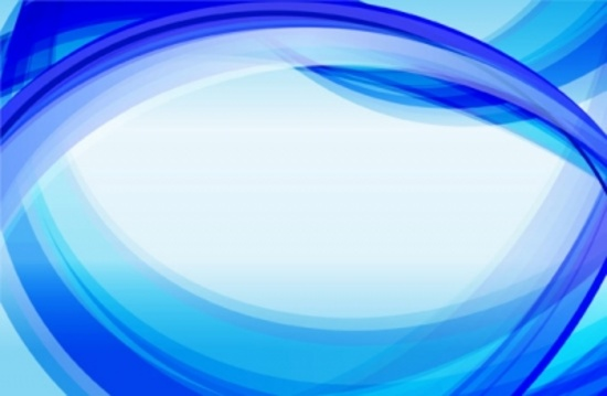 Wavy Blue Background Design
