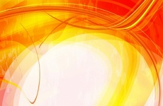 Abstract Cool Orange Background