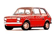 Old Timer Fiat 126p