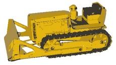 Free Vector Bulldozer