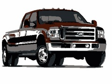 Ford F-250 Pick Up Truck