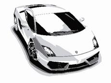 Lamborghini Gallargo Vector