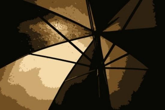 Umbrella Abstract Vector