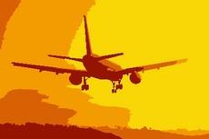 Sunset Airplane Lending