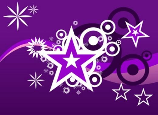 Cool Purple Vector Design