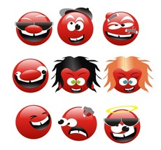 Cool Vector Emoticons