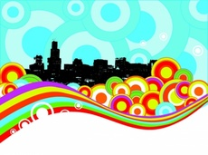 Colorfull Urban Vector Design