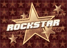 Rock Star Vector Graphic