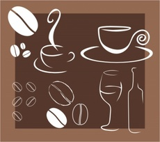 Coffee and Drinks Vectors