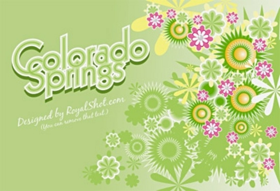 Colorado Springs Free Vectors