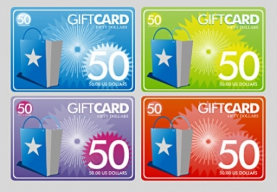 Free Vector Gift Cards