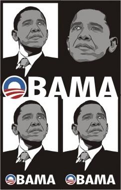 President Barack Obama Vector