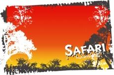 Safari Vector Free Graphic
