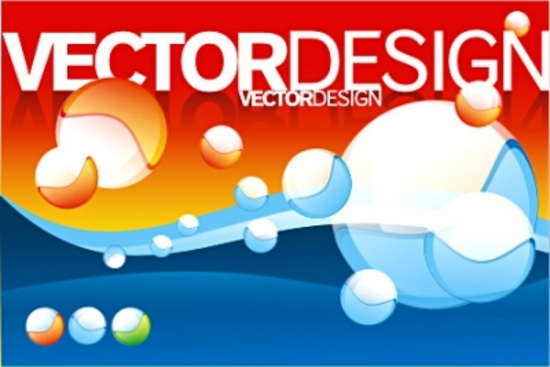 Cool 3D Vector Balls Composition