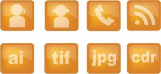 Free Web Vector Icons Set
