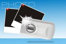Digital Camera Free Vector Graphic