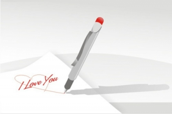I Love You Vector Graphic Valentines Day