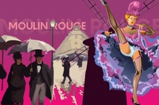 Moulin Rouge Theme Vector