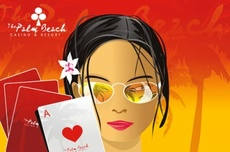 Palm Beach Casino Vector Theme