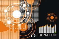 Vector Music Theme 1