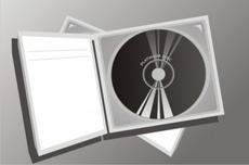 CD Compact Music Disc Vector