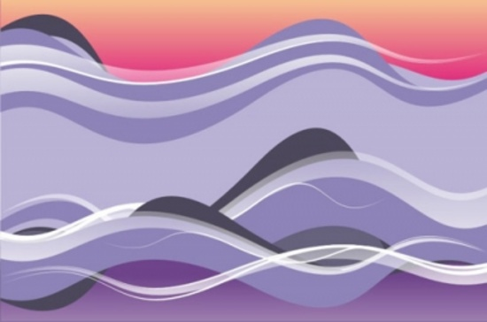 Free Colorful Vector Art Waves