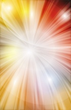 Light Explosion Vector Background