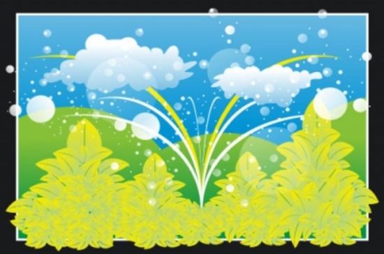 Free Vector Landscape Design