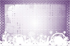 Violet Mesh Free Vector Background