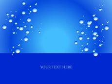 Dark Blue Bubbles Free Background
