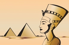 Egyptian Civilization Vector