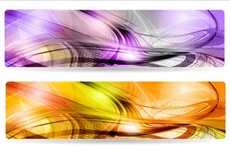 Abstract Vector Banner Backgrounds