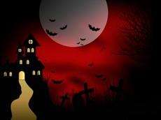 Halloween hunted house