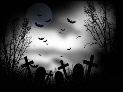 Halloween theme-white
