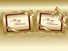 Merry Christmas Holiday Free Vector