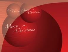 Free Vector Christmas Card
