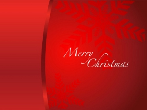 Merry Christmas - Holiday Free Vector