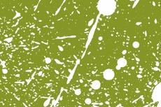 Green Background with Splash