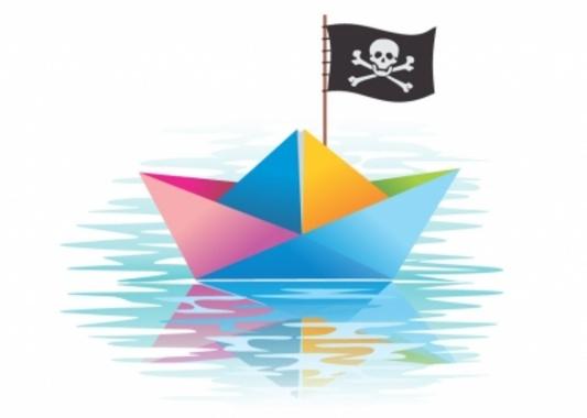 Pirates Paper Ship Design