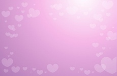 Pinky Hearts Vector Background